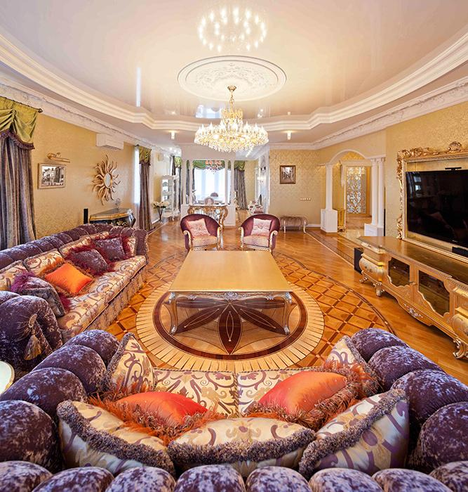 интерьер гостиной - фото № 31208