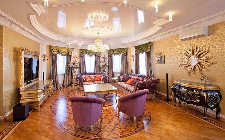 интерьер гостиной - фото № 31209