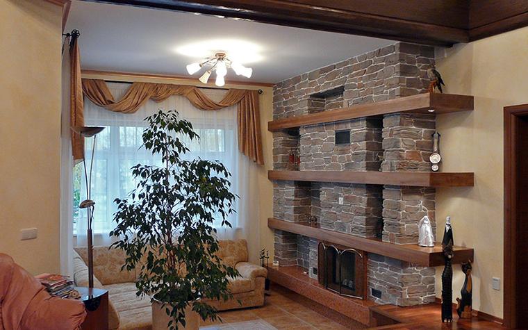 интерьер гостиной - фото № 31242