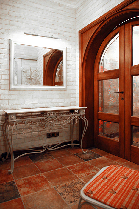 Загородный дом. холл из проекта , фото №31435