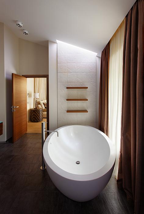 Загородный дом. ванная из проекта , фото №31486