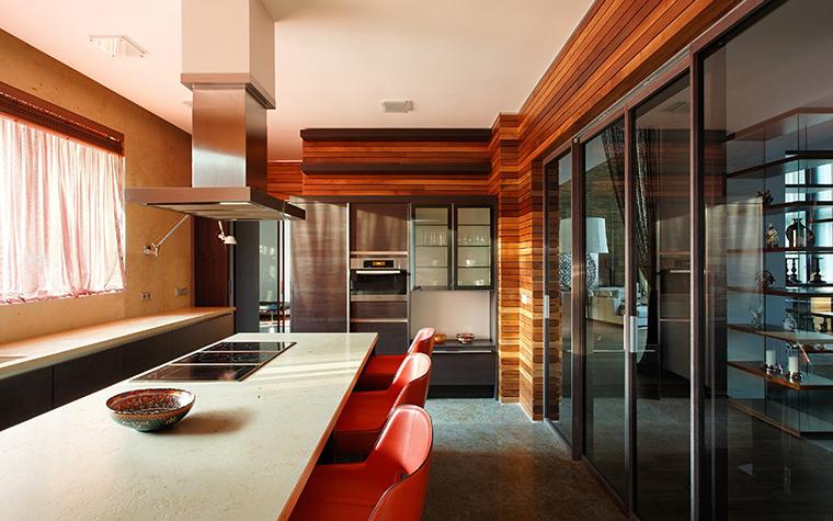 Загородный дом. кухня из проекта , фото №31483