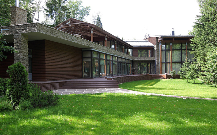 Загородный дом. фасад из проекта , фото №31496
