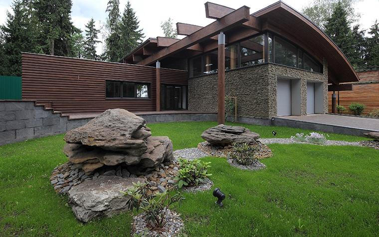 Загородный дом. фасад из проекта , фото №31497