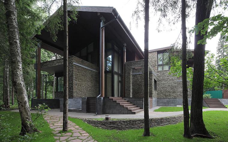 Загородный дом. фасад из проекта , фото №31498