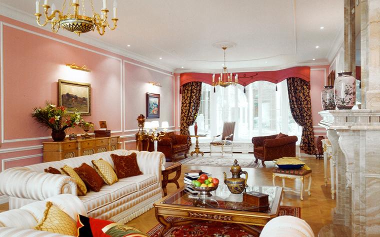 интерьер гостиной - фото № 31635