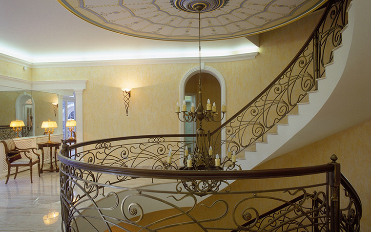 Загородный дом. холл из проекта , фото №31646