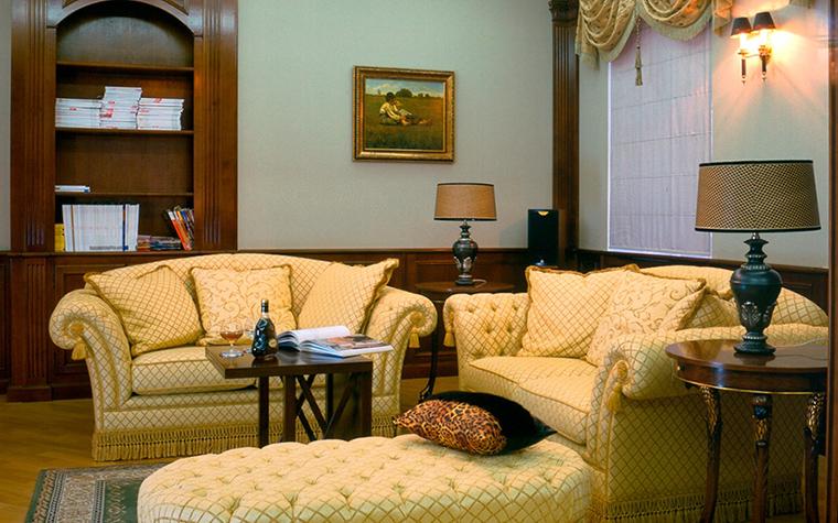 интерьер гостиной - фото № 31638
