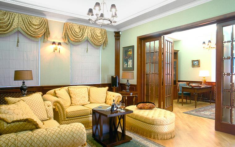 Фото № 31639 гостиная  Загородный дом