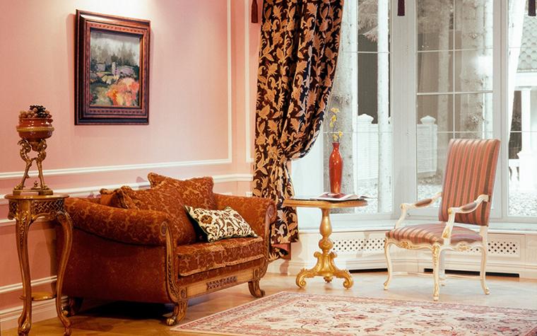 интерьер гостиной - фото № 31637