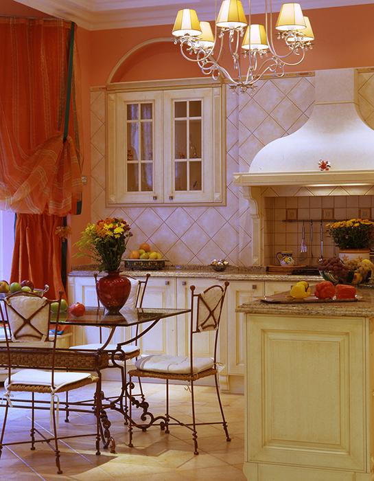 Загородный дом. кухня из проекта , фото №31644