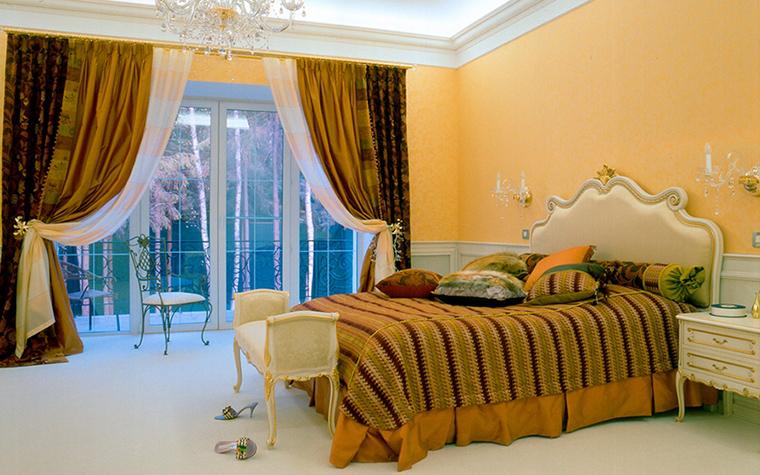 интерьер спальни - фото № 31642