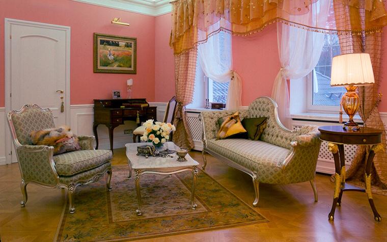 интерьер гостиной - фото № 31641