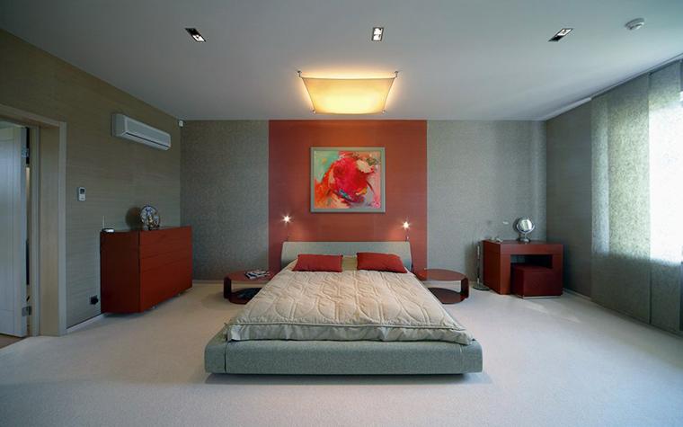 интерьер спальни - фото № 32038
