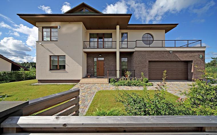 Загородный дом. фасад из проекта , фото №32018