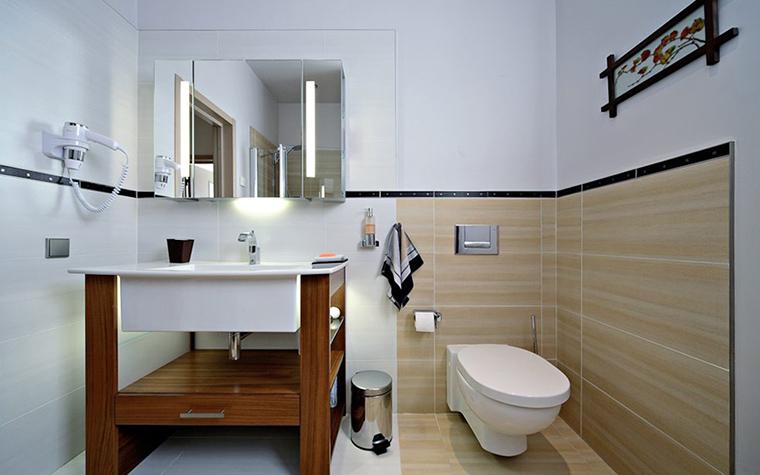 Загородный дом. ванная из проекта , фото №32028