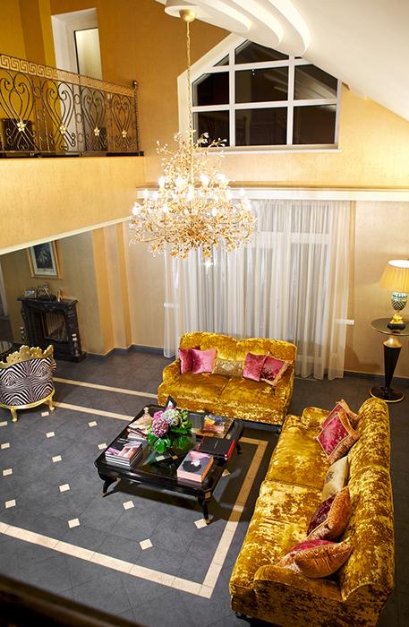 Фото № 32069 гостиная  Загородный дом