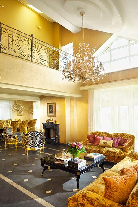 Фото № 32067 гостиная  Загородный дом