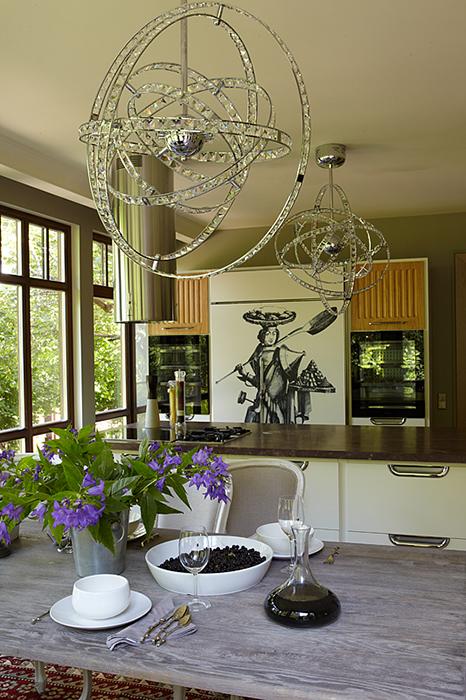 Загородный дом. кухня из проекта , фото №32249