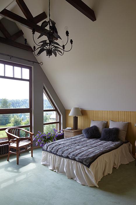 Загородный дом. спальня из проекта , фото №32248