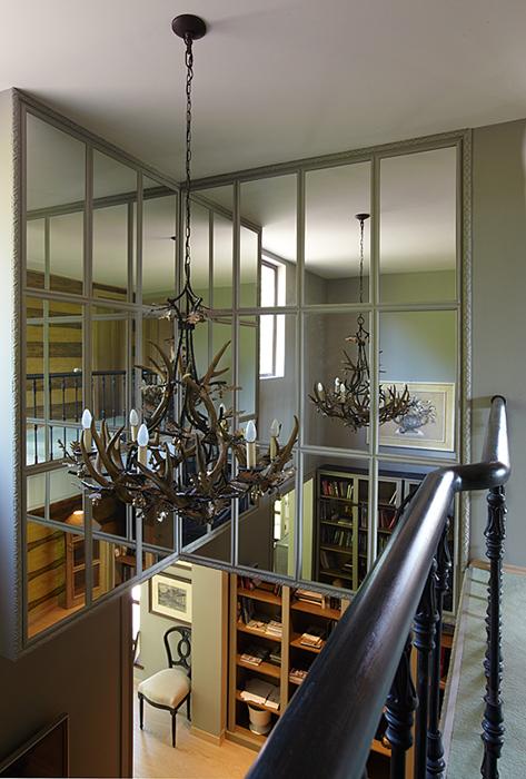 Загородный дом. холл из проекта , фото №32252