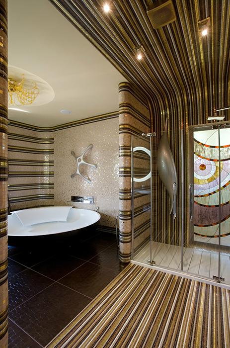 Загородный дом. ванная из проекта , фото №32430