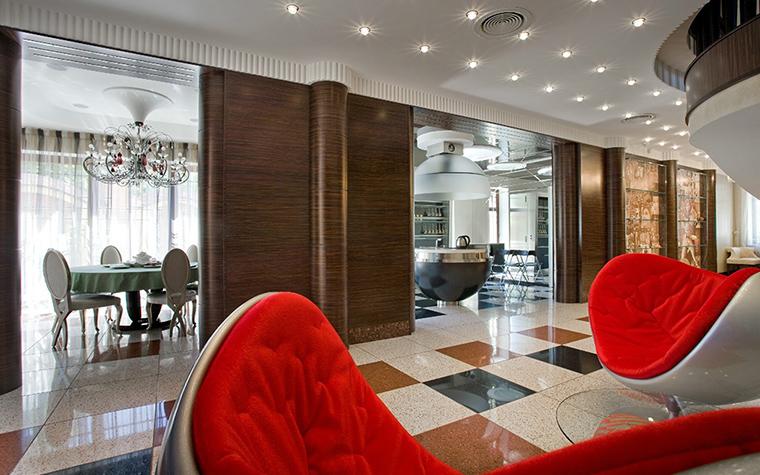 интерьер гостиной - фото № 33986