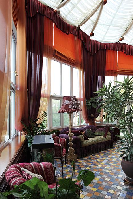 интерьер зимнего сада - фото № 32534