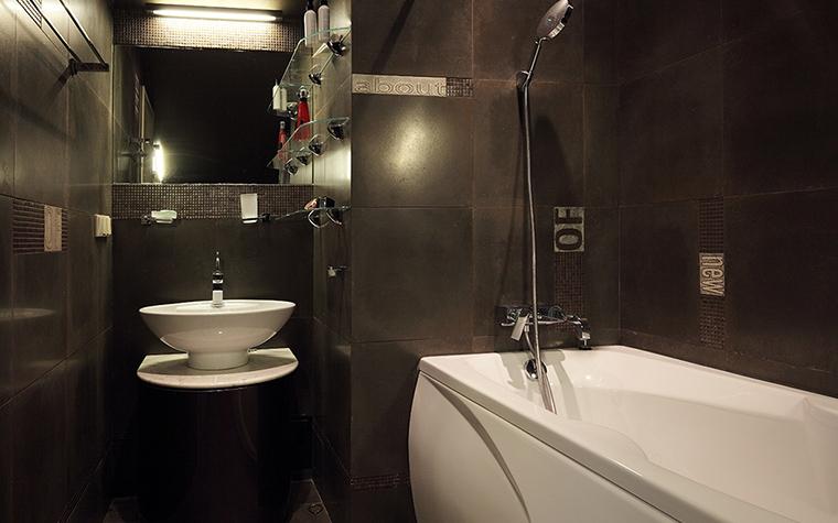 Загородный дом. ванная из проекта , фото №32548