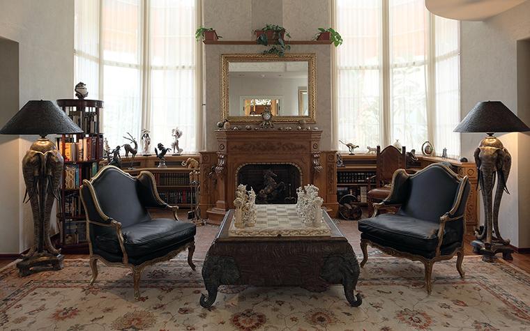 интерьер гостиной - фото № 32525
