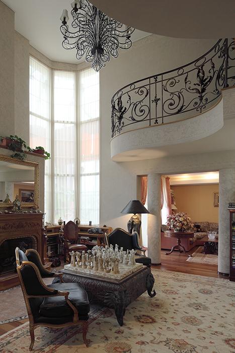 интерьер гостиной - фото № 32526