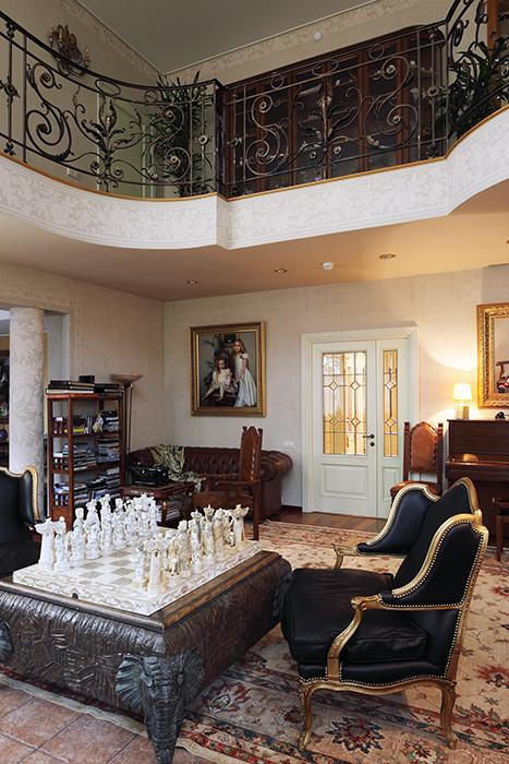 интерьер гостиной - фото № 32527