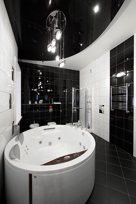 Фото № 32563 ванная  Загородный дом