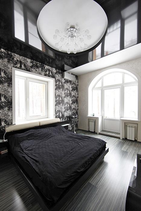 Фото № 32570 спальня  Загородный дом