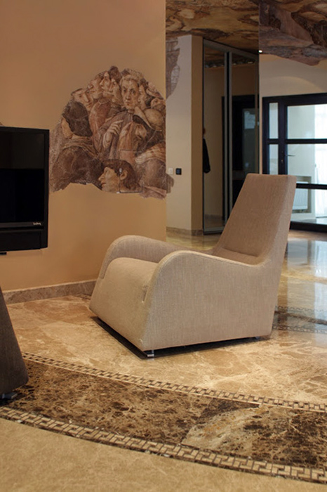 интерьер гостиной - фото № 32797