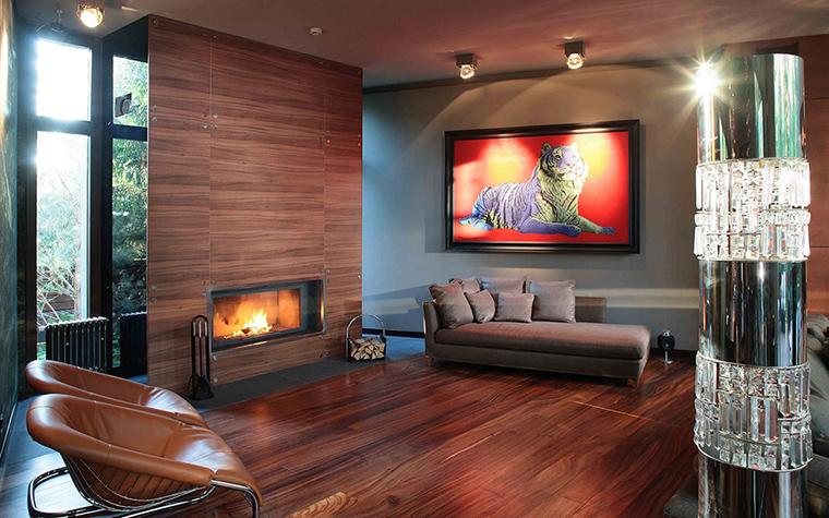 интерьер гостиной - фото № 32836