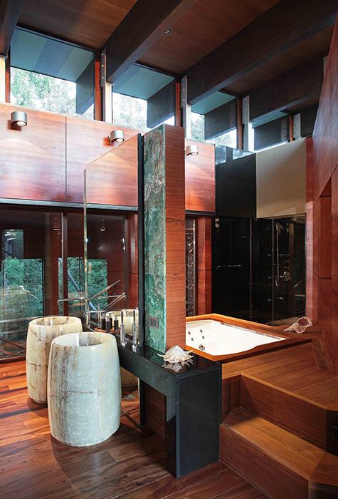 Фото № 32850 ванная  Загородный дом