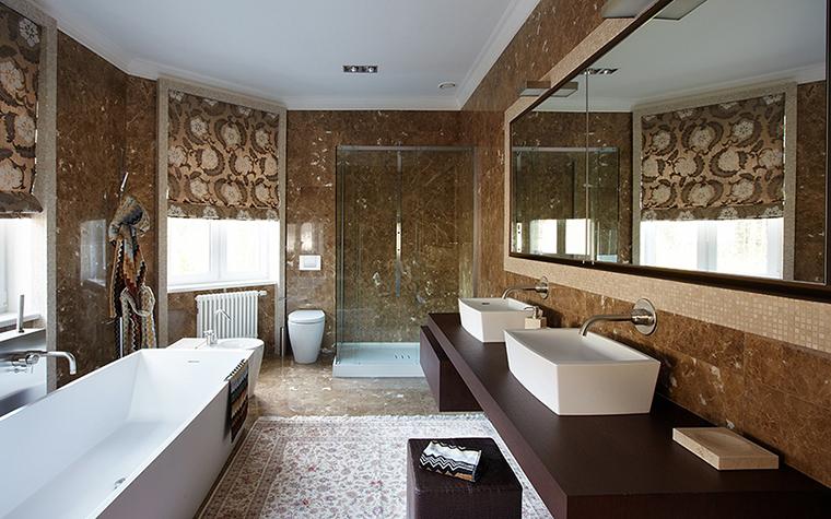 Фото № 32814 ванная  Загородный дом