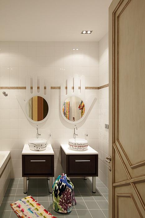 Фото № 32816 ванная  Загородный дом