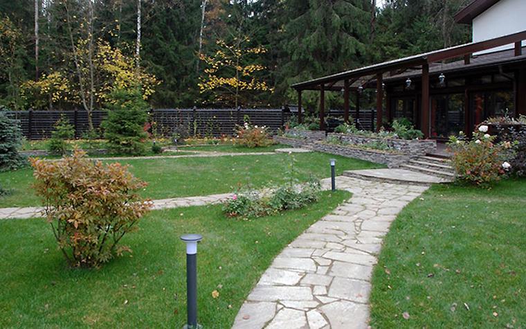 Загородный дом. дорожка из проекта , фото №32946