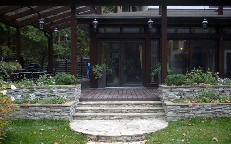 Загородный дом. дорожка из проекта , фото №32945