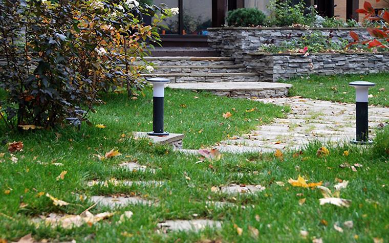 Загородный дом. дорожка из проекта , фото №32936