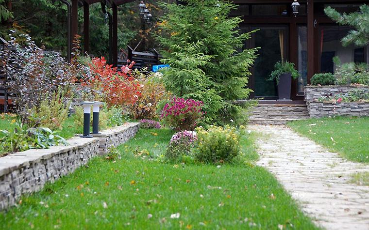 Загородный дом. сады из проекта , фото №32939
