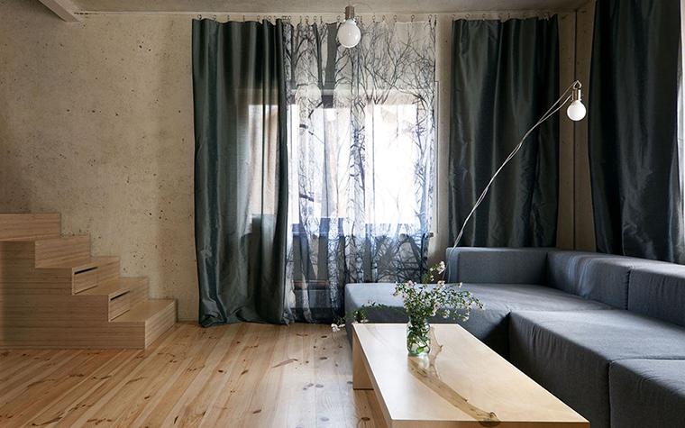 Загородный дом. гостиная из проекта , фото №33345