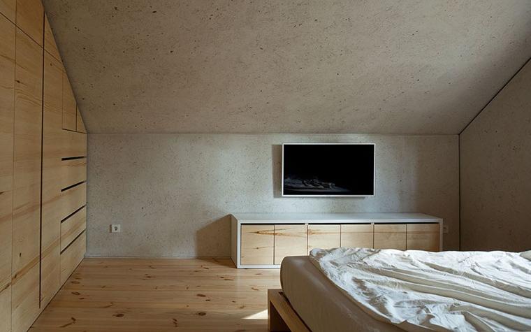 Загородный дом. спальня из проекта , фото №33351