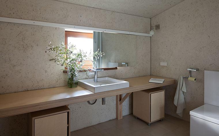 Загородный дом. ванная из проекта , фото №33360