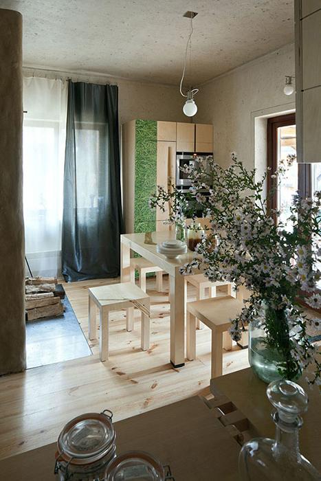 Загородный дом. кухня из проекта , фото №33358