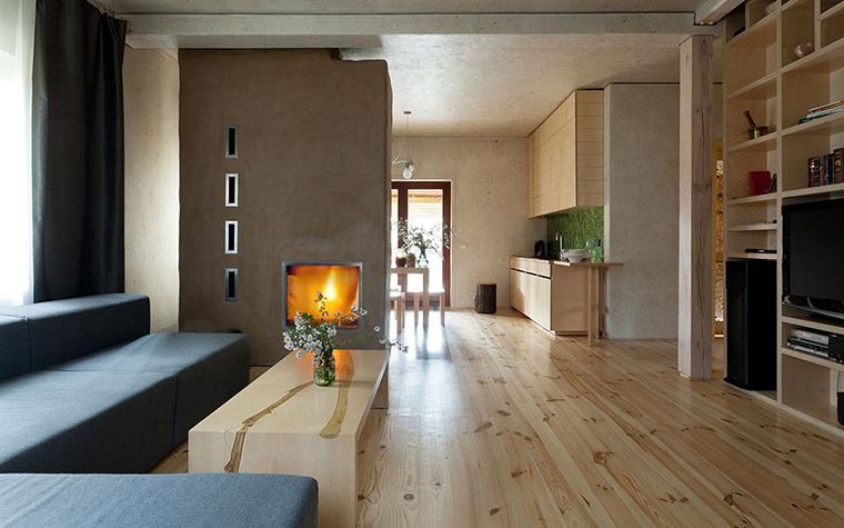 Загородный дом. гостиная из проекта , фото №33344