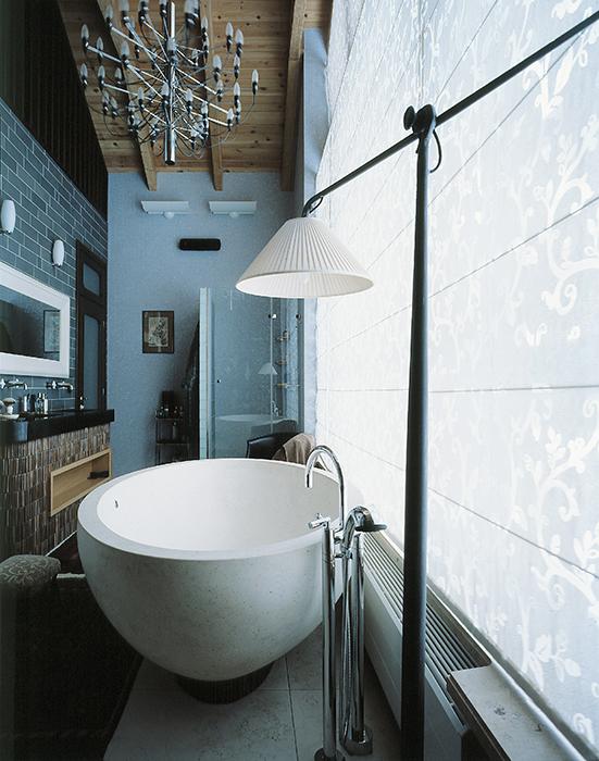 Загородный дом. ванная из проекта , фото №33661