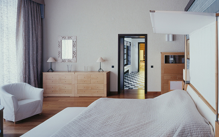 интерьер спальни - фото № 33658